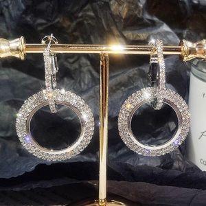 New Design Elegant Fashion Double Earrings